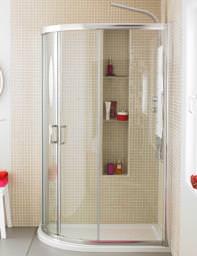 Ultra Apex Offset Quadrant Shower Enclosure 1000 x 800mm - M1080Q