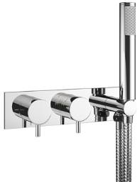 Crosswater Mike Pro Chrome Thermostatic Shower Valve With Kit