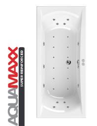 Aquaestil Arena Aquamaxx 1800 x 800mm 24 Jets Whirlpool Bath