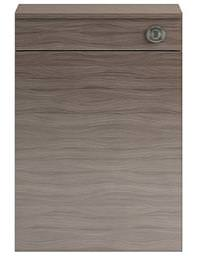 Balterley Drake 500mm Driftwood Back-To-Wall WC Furniture Unit