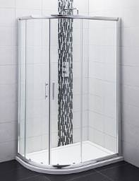 Balterley Offset Quadrant Shower Enclosure 1000x800mm- BYSEFOQ108