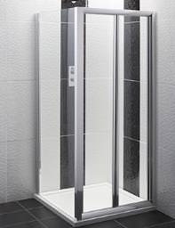Balterley Framed Bi-Fold Shower Door 1000mm - BYSEFBD10