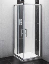 Balterley Framed Corner Entry Shower Enclosure 800mm - BYSEFCE8