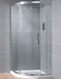 Aquadart Venturi 8 Single Door Shower Quadrant 800 x 800mm