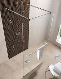 Twyford Hydr8 Walk Through Shower Panel 900mm - H85910CP