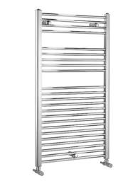 Biasi Dolomite Chrome Straight Heated Towel Rail 300 x 800mm