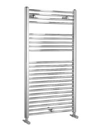 Biasi Dolomite Chrome Straight Heated Towel Rail 400 x 800mm