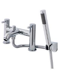 Ultra Verity Deck Mounted Bath Shower Mixer Tap With Kit - TVT314