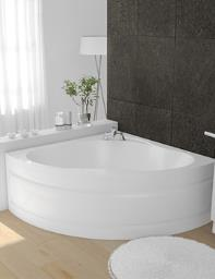 Beo Lagoon 5mm Acrylic Corner Bath 1350 x 1350mm