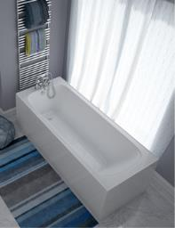Beo Region Single Ended 8mm Acrylic Rectangular Bath 1685 x 695mm