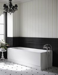 Beo Portrait Single Ended Bath 1700 x 700mm White