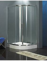 Aqva Quadrant Shower Enclosure Chrome 1200 x 1200mm